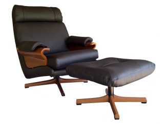 Tessa T2 Swivel Chair and Ottoman