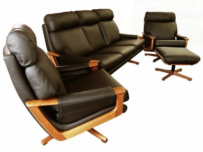 Tessa T21 Leather Lounge Suite