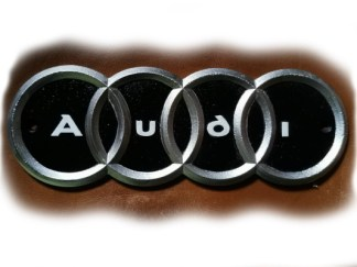 Cast Iron Audi Sign