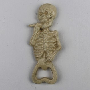 Cast Iron Skeleton Smoking Opener