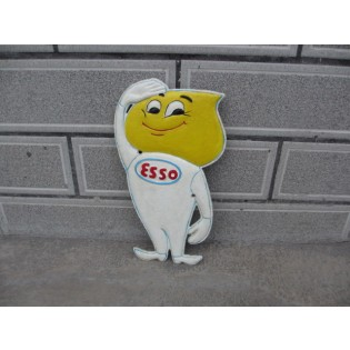 Cast Iron Esso Man Sign