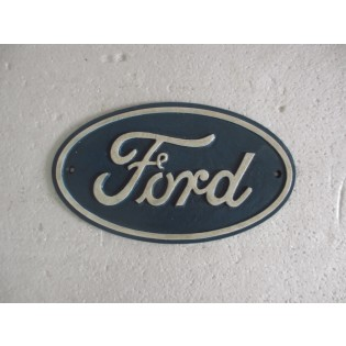 Cast Iron Ford Oval Sign