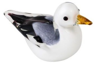 Art Glass Seagull
