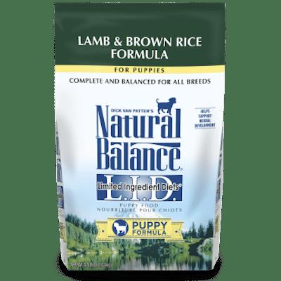 Natural Balance Puppy Food