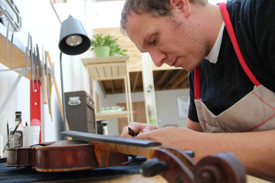Meet Manchester's Violin Craftsman: Adam Birce of Four Strings