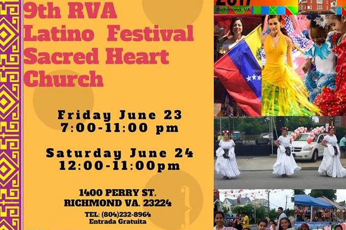 9th RVA Latino Festival at Sacred Heart Church