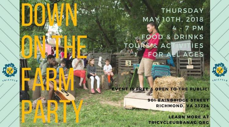 Manchester's Tricycle Garden's Down on the Farm Party