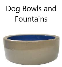 Dog Bowls and Fountains