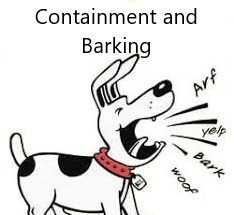 Containment and Barking