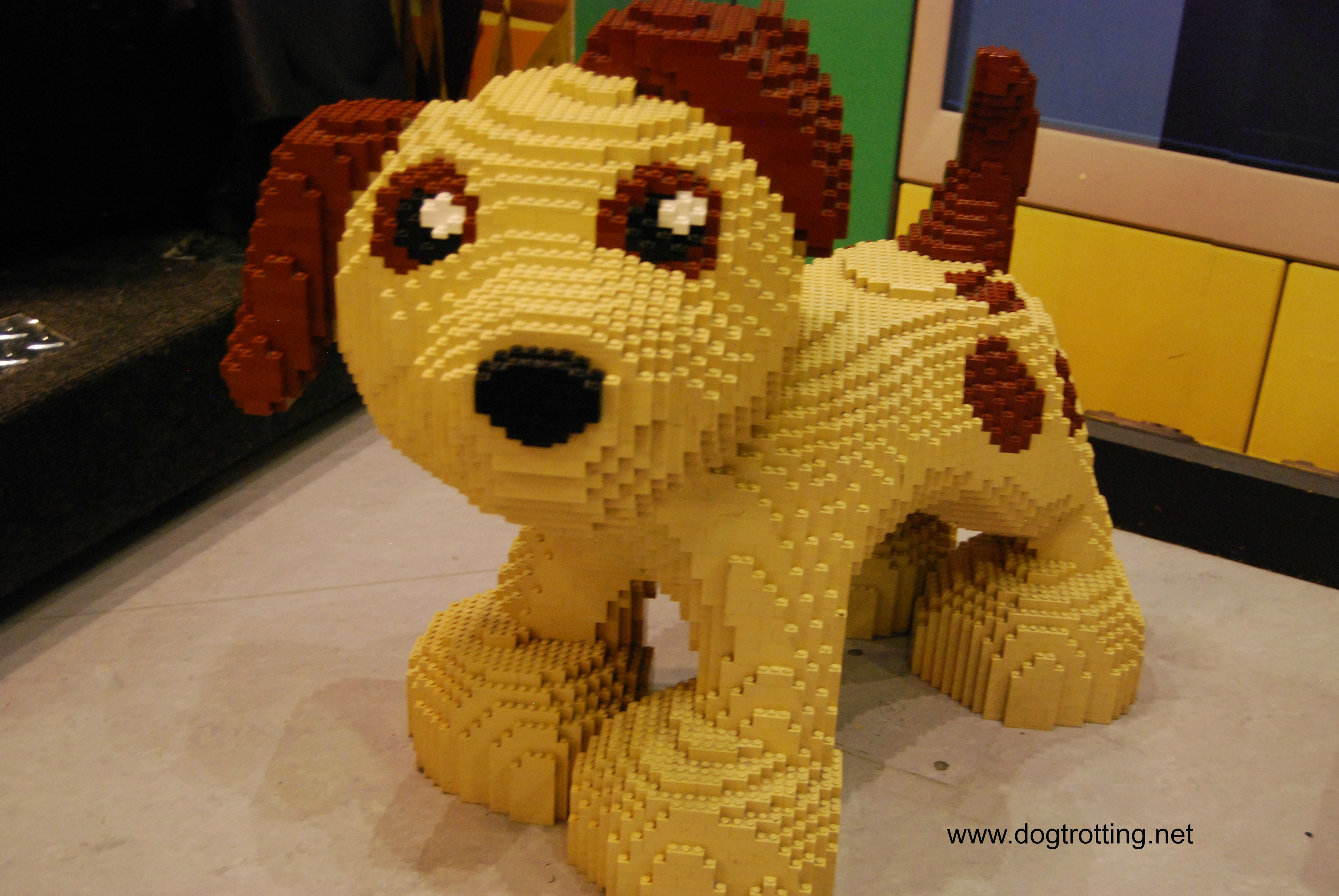 Travel Toronto, ON: Legoland and the most photographed (Lego) Dog in Town