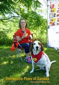 Dog at K9 Fun Zone Dawg Dayz of Summer event 2017
