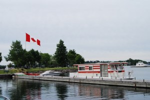 Our home for five days during our Great Canadian Houseboat Adventure