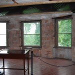 'Before' room of Boldt Castle pre-renovation conditions