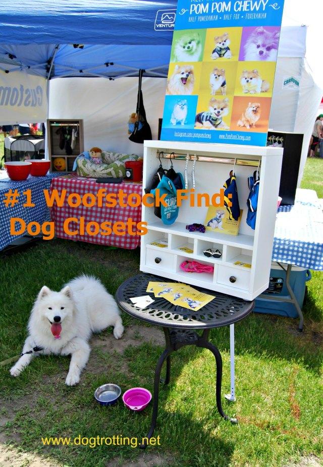 dog closets woofstock