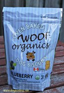 Woof Organics Dog Biscuits