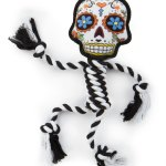 Sugar Skullz pet toys from Worldwise dogtrotting.net