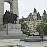 downtown Ottawa, Ontario - WWI Memorial