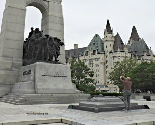 downtown Ottawa, Ontario - WWI Memorial