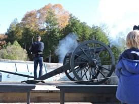 canon firing Mackinac Island