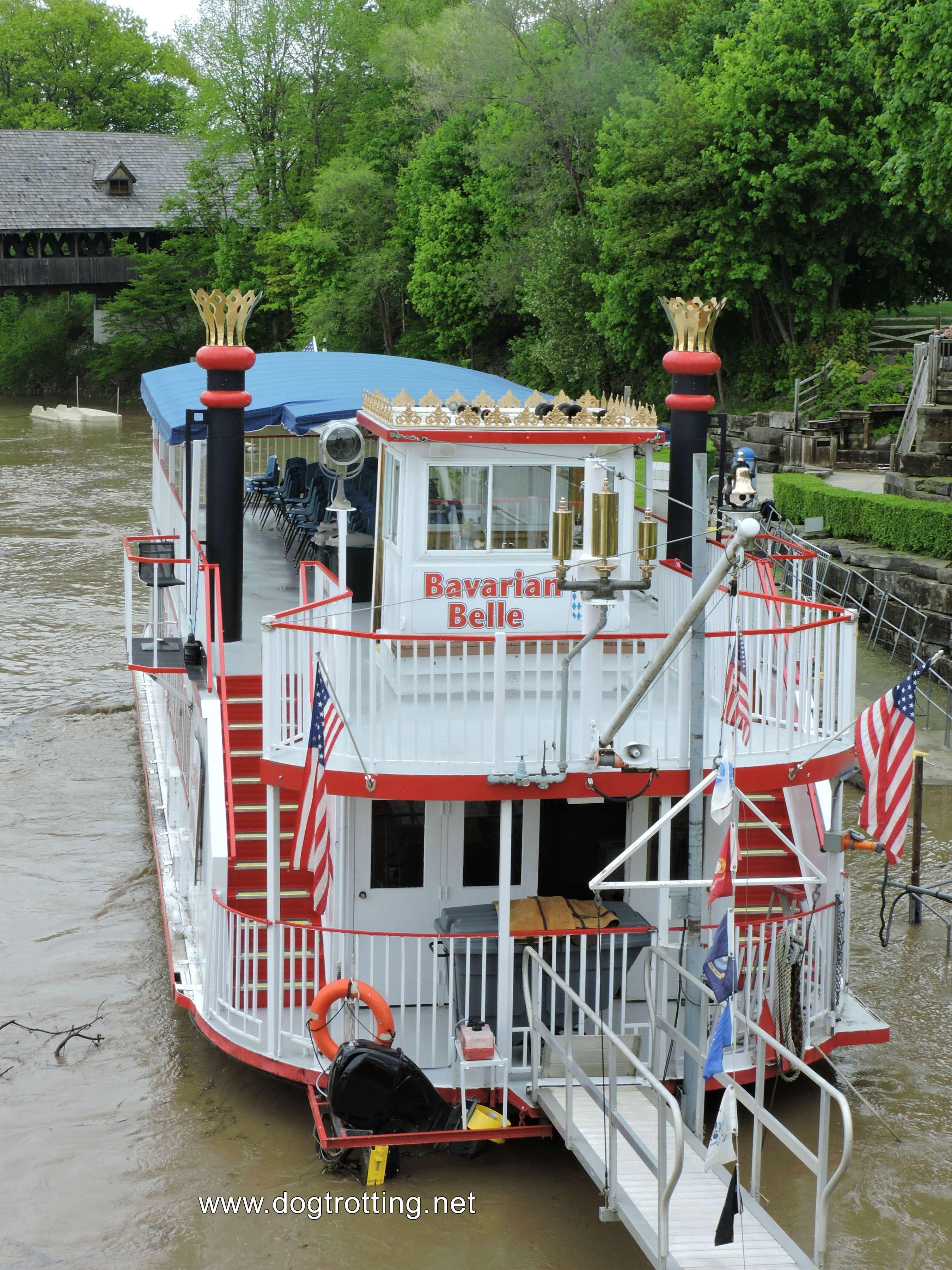 Bavarian Belle River Boat, Frankenmuth, Michingan