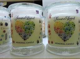 furever loved pet memorial candles