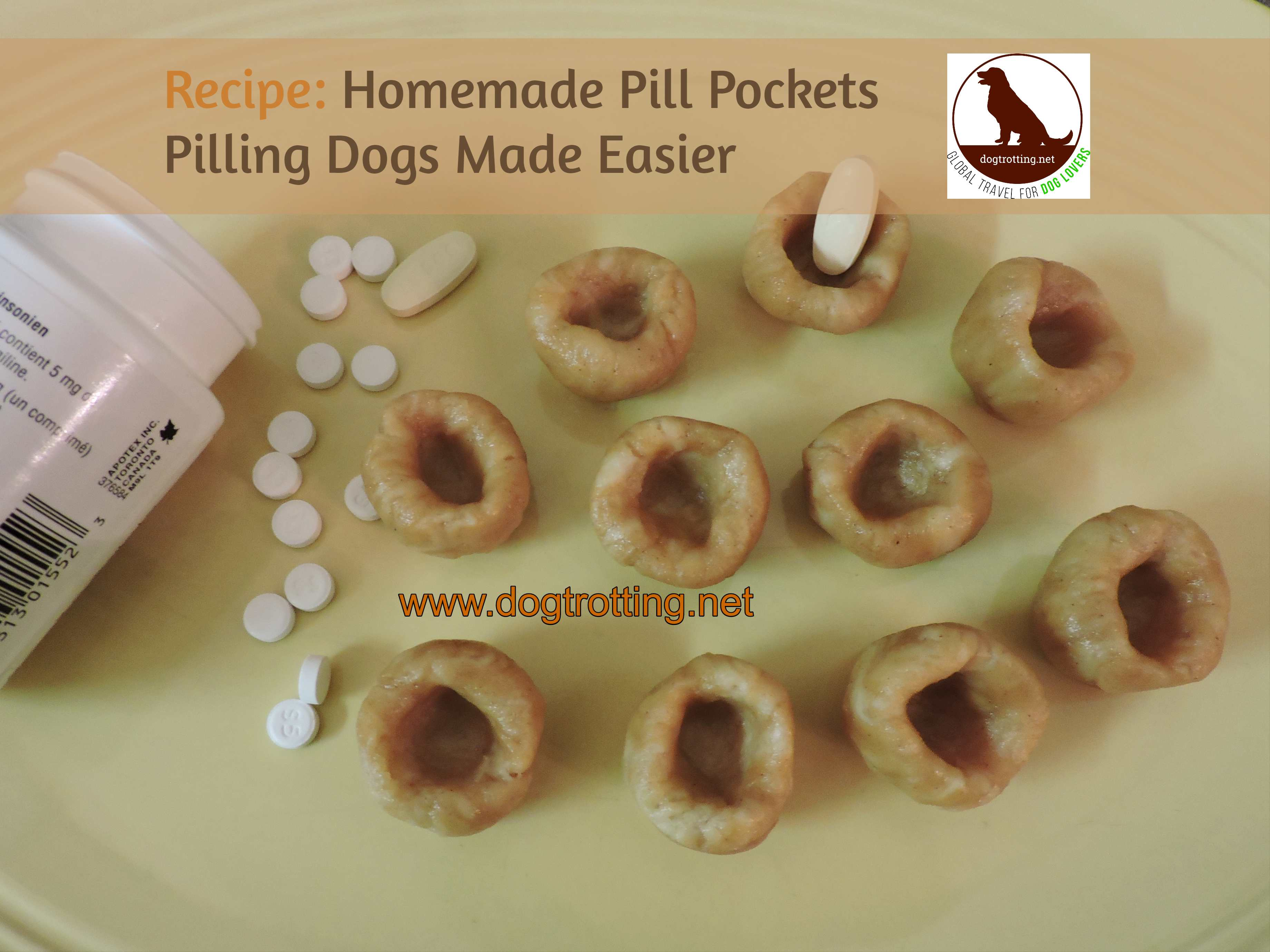 Homemade pill pockets for dogs