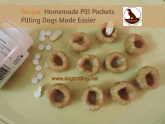 pill pockets www.dogtrotting.net
