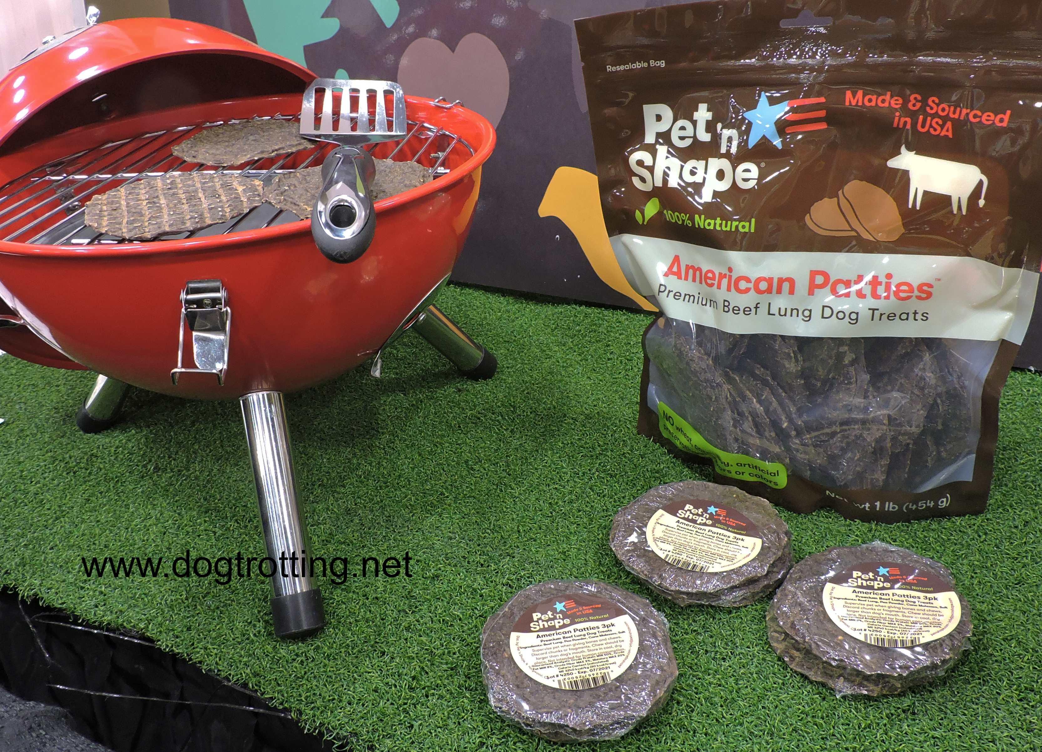 pet n shape American Patties dog treats