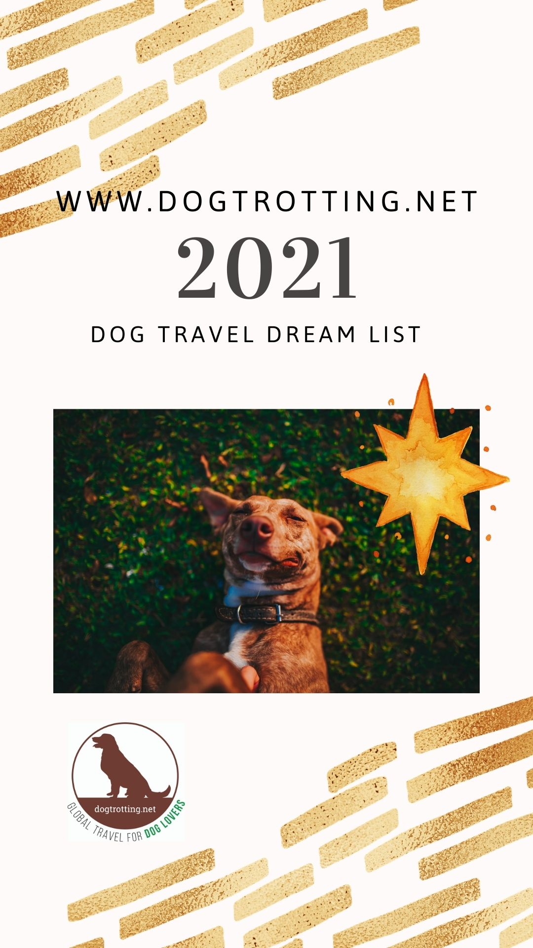 Dreaming of Travel Dog-friendly Wanderlust List 2021
