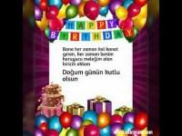 doğum günü kutlamak videosu