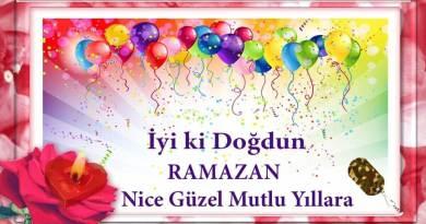 iyiki doğdun ramazan videolu doğum günü mesajı