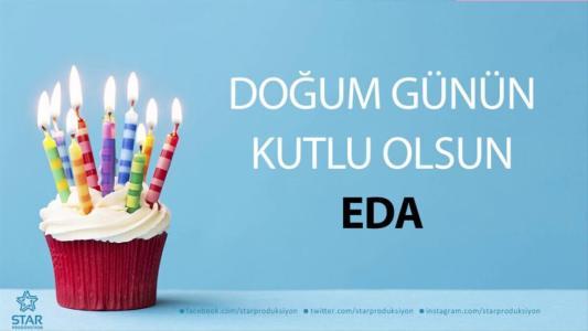 eda isimli doğum günü mesajı