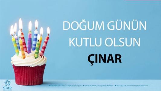 çınar isimli doğum günü mesajı