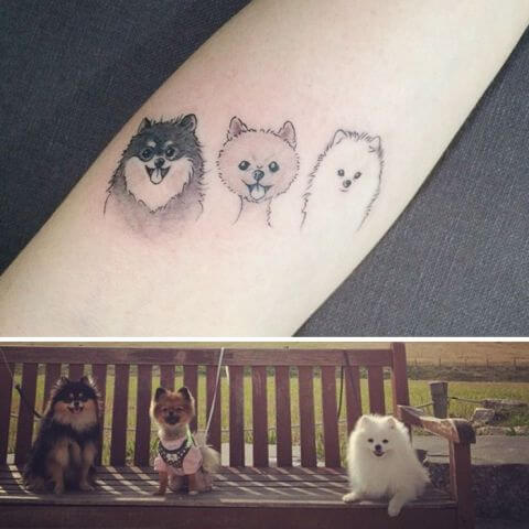 dog lover tattoo