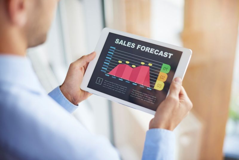 Improve customer service to increase sales forecasts