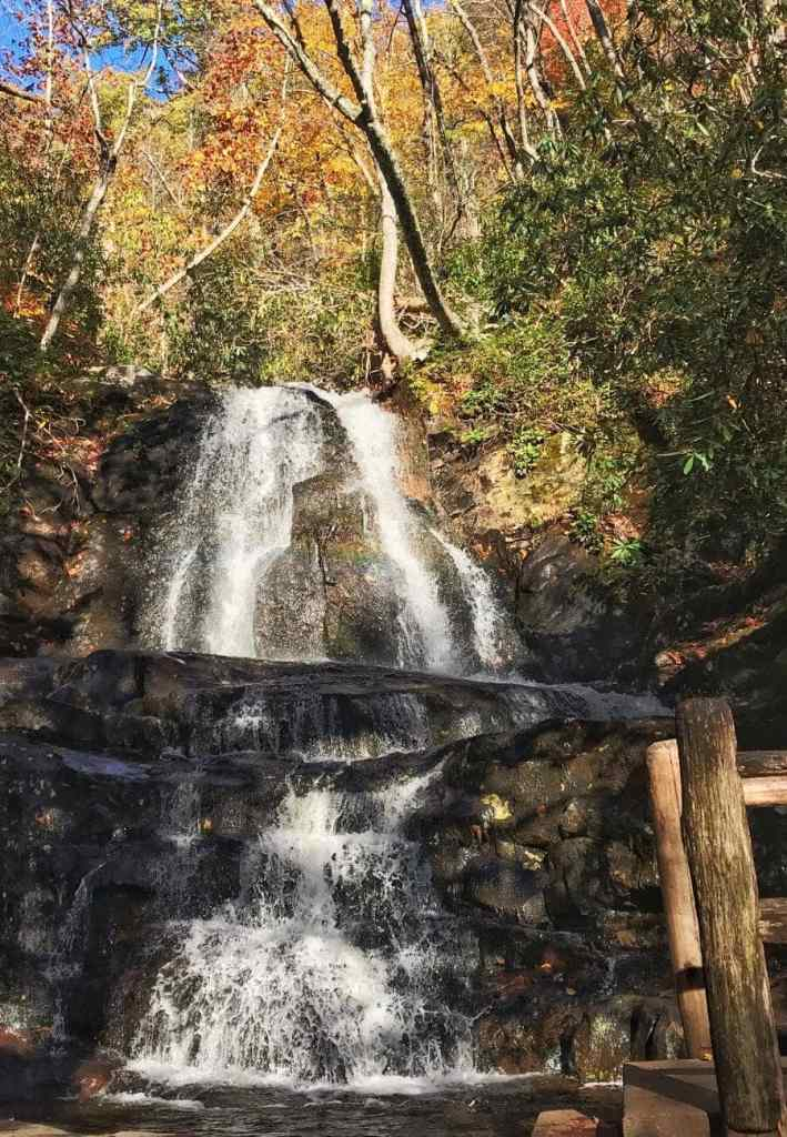 laurel falls waterfall
