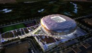 Qatar Foundation stadium rendering