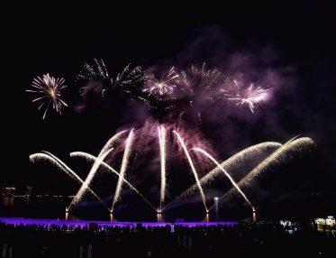 2015 Eid Al Adha fireworks at Katara