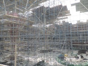 Mall of Qatar construction as of March 2016