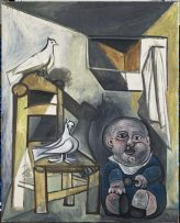 Pablo Picasso's Child with Doves