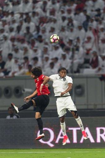 Khalifa International Stadium hosts Emir Cup 2017 final - match action 2