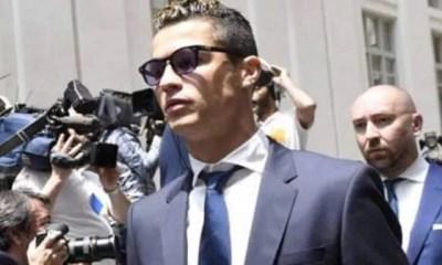 Juventus Ronaldo condamné à 23 mois de prison et à 188 M€ d'amende