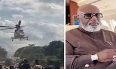 Nigeria, La Vraie Raison, Laquelle Un Milliardaire, A été Transporté Par , Hélicoptère Révélée