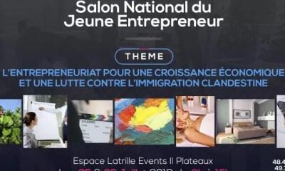 Côte D'ivoire,un Salon, Jeunes Entrepreneurs, Ouvre Ses Portes