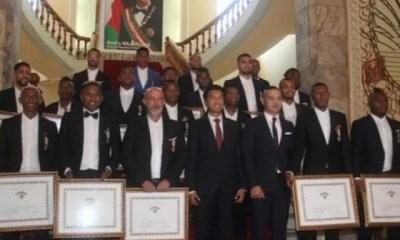 Can 2019,les Joueurs ,malgaches élevés, Rang De Chevaliers