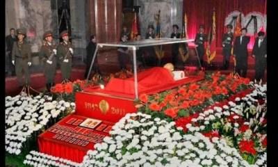 Corée Du Nord , Kim Jong Un ,dépenserait, 400 000 Dollars , Garder Le Corps , Père Gelé , Glace