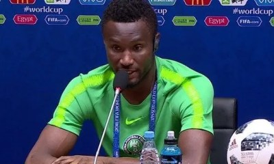 Football,john Obi Mikel, Met Un Terme , Carrière Internationale