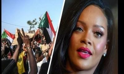 Massacre Au Soudan, Rihanna ,manifeste ,soutien , Peuple