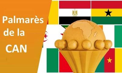 Palmarès De La Coupe D'afrique Des Nations De Football