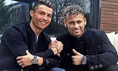 Ronaldo Et Neymar,un Drôle De Duel ,entre, Deux Stars, Enflamme, Toile